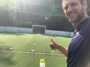 Alexandre Dellal avec Sportbeeper