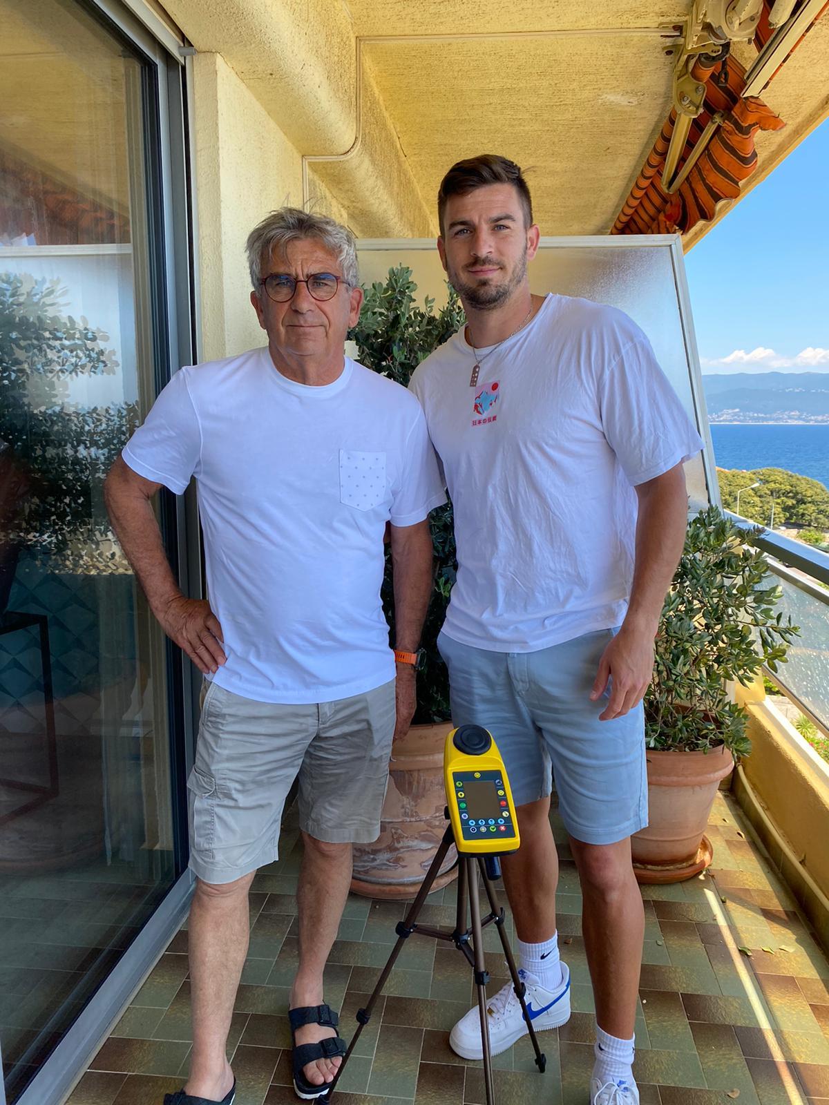 Georges et Frédéric Gacon concepteurs du sportbeeper